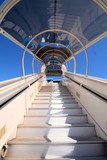 airline stairway poster
