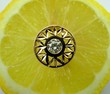golden ring on lemon