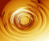 gold ripples poster
