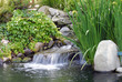 Quadro waterfall in japanese garden