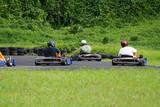 several go karts poster