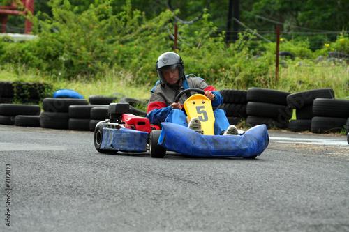 poster of go kart number five