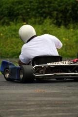 karting back