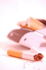 fini la cigarette.
