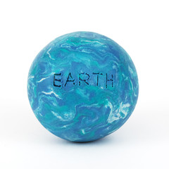 planet earth, clay modeling