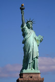 Fototapety statue of liberty on stand