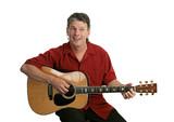 guitar performer poster