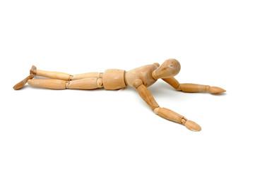figurine - lying