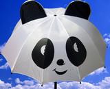 panda umbrella poster