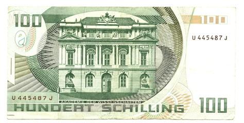 100 austrian schillings