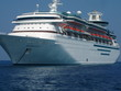cruise ship close up