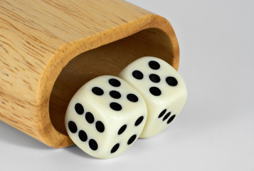 shaker and dice: 55