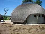 case afrique du sud toit en chaume poster