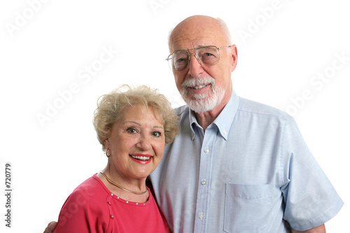 senior couple together horizontal