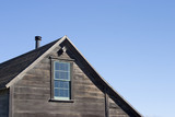 rustic house roof poster