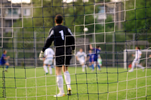 poster of goalkeeper, attack