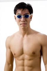 asian swimmer
