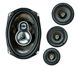 auto sound loud speaker system poster