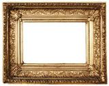 ozdobený rámik obrázka zlato (cesta v cene)
