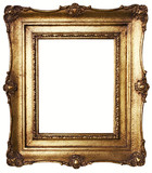rám obrazu zlato (cesta v cene)