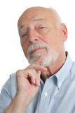 senior man - skeptical poster