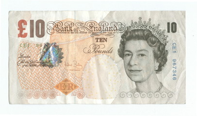 british 10 pounds