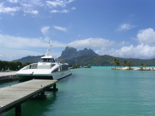 bora bora airport shuttle