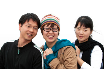 jeunes asiatiques dynamiques