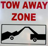 tow away poster