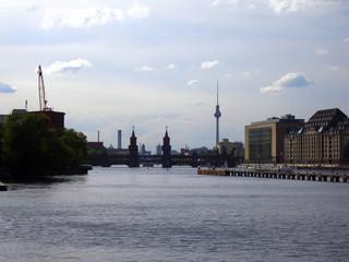 blick auf berlin city