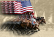rodeo queens & flags - 728977