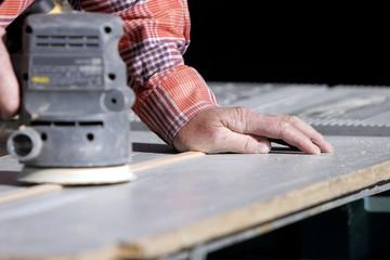 experienced hand & power sander