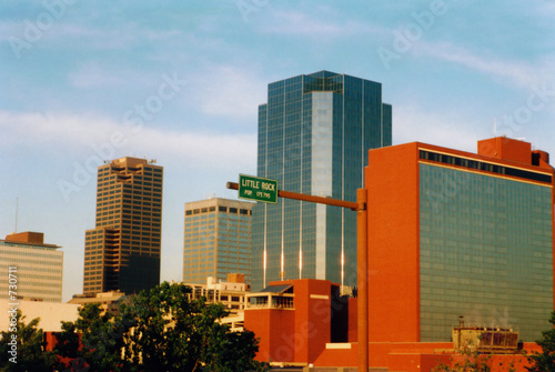 little rock skyline, arkansas