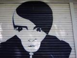 graffiti - nice boy head poster