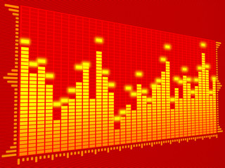 equalizer digital (red)