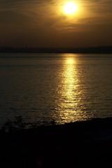 a sunset