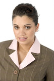 hispanic businesswoman poster