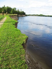spring on the desna river