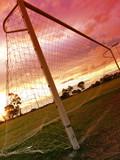 soccer sunset ii poster