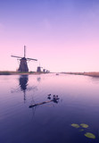 old windmills poster