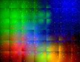 rainbow glass poster
