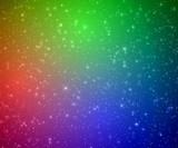 multicolor light poster
