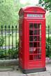 phone box, london