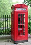 phone box, london poster