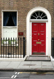entrance door, london poster