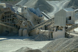 industry of the gravel quarry
