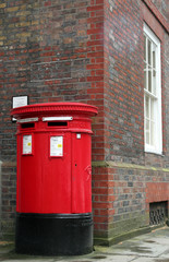 red postbox, london