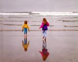 beach bum reflections poster
