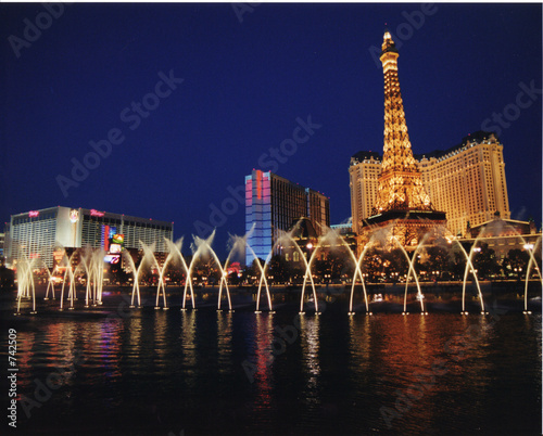 vegas lights - 742509
