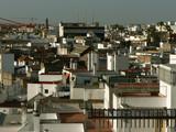 seville skyline poster